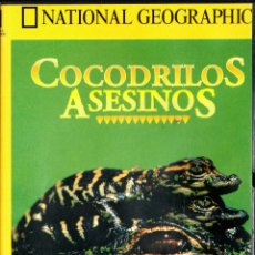 Series de TV: . DVD NATIONAL GEOGRAPHIC COCODRILOS ASESINOS . Lote 53230656