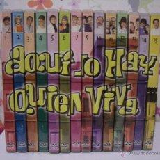 Series de TV: LOTAZO / PACK 14 DVD AQUÍ NO HAY QUIEN VIVA ** SERIE TV ESPAÑOLA ** 28 CAPÍTULOS. Lote 64727465