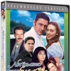 Series de TV: ABRAZAME MUY FUERTE TELENOVELA NUEVO DVD VICTORIA RUFFO / FERNANDO COLUNGA. Lote 111198907