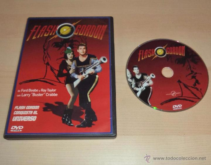 FLASH GORDON CONQUISTA EL UNIVERSO, EN DVD (Series TV en DVD)