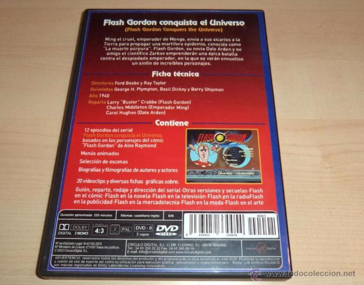 Series de TV: Flash Gordon Conquista el Universo, en DVD - Foto 2 - 53805346