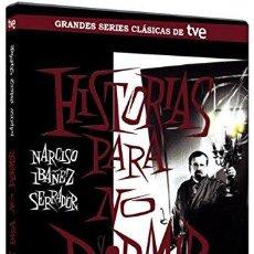 Cine: HISTORIAS PARA NO DORMIR, DE NARCISO IBÁÑEZ SERRADOR. PACK INÉDITOS: 2 DVD, 8 HISTORIAS. PRECINTADO. Lote 58488948