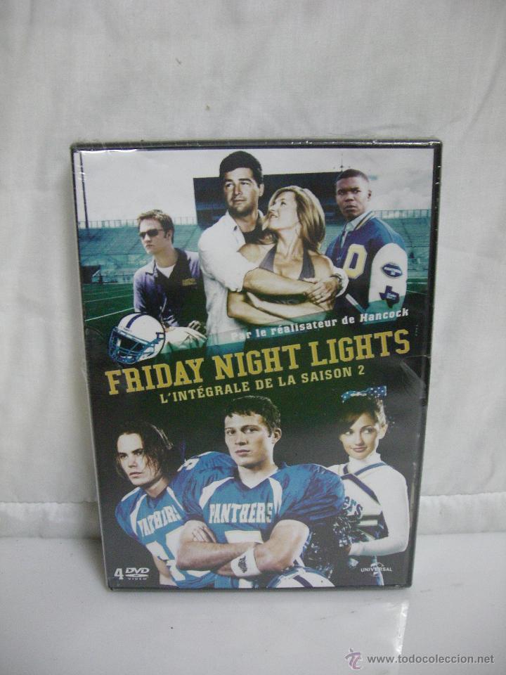 LOTE BOX (4 DVD) ** FRIDAY NIGHT LIGHTS (LUCES VIERNES NOCHE) PARTE 2 ** PRECINTADO EN FRANCÉS (Series TV en DVD)