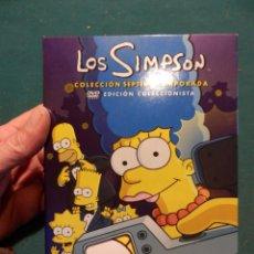 Cine: LOS SIMPSONS - ESTUCHE CON 4 DVD'S - COLECCIÓN 7ª SEPTIMA TEMPORADA - EDICIÓN COLECCIONISTA. Lote 53983143