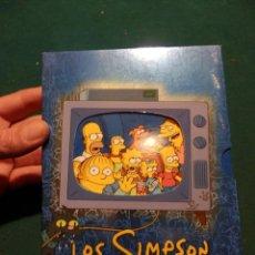 Cine: LOS SIMPSONS - ESTUCHE CON 4 DVD'S - COLECCIÓN 4ª CUARTA TEMPORADA - EDICIÓN COLECCIONISTA. Lote 53983257