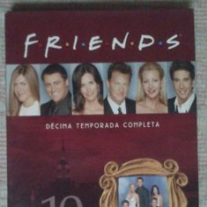 Series de TV: DVD FRIENDS: DECIMA TEMPORADA COMPLETA - 3 DVDS. Lote 54325222