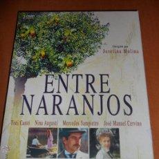 Cine: ENTRE NARANJOS. DVD CON 2 DVD'S CON LA SERIE DE TVE. CON TONI CANTO, NINA AUGUSTI, MERCEDES SAMPIETR. Lote 54460245