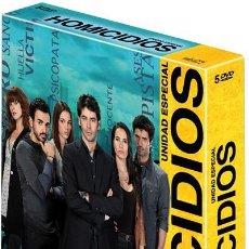 Series de TV: UNIDAD ESPECIAL DE HOMICIDIOS. SERIE COMPLETA. EDUARDO NORIEGA. 13 CAPÍTULOS. 5 DVDS. 16 HORAS. Lote 54683660