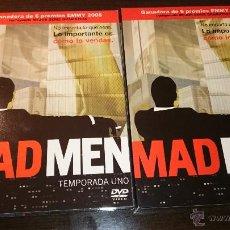 Series de TV: MAD MEN TEMPORADA 1 COMPLETA EDICIÓN ESPECIAL COLECCIONISTA LUJO 4 DISCOS DVD. Lote 54713963