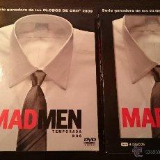 Series de TV: MAD MEN TEMPORADA 2 COMPLETA EDICIÓN ESPECIAL COLECCIONISTA LUJO 4 DISCOS DVD. Lote 54714076