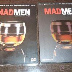 Cine: MAD MEN TEMPORADA 3 COMPLETA EDICIÓN ESPECIAL COLECCIONISTA LUJO 4 DISCOS DVD. Lote 54714113