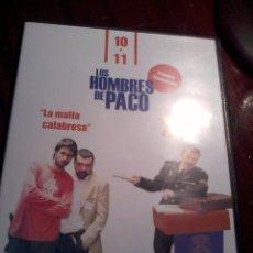 Series de TV: LOS HOMBRES DE PACO. LA MAFIA CALABRESA. CON FAJA Y A LO LOCO. 10 Y 11. C13DVD. Lote 55023355