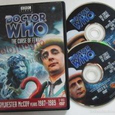 Series de TV: DOCTOR WHO THE CURSE OF FENRIC - 2 DVD - SERIE DE TELEVISIÓN AÑOS 80 CIENCIA FICCIÓN -S MCCOY EXTRAS. Lote 55115964