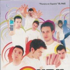 Series de TV: LO QUE SURJA, WEBSERIE DE TEMATICA GAY, 2 TEMPORADAS 2 DVD. Lote 55326453