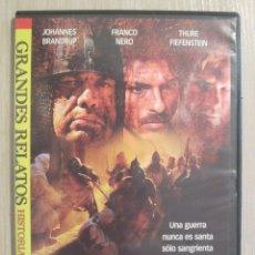 Series de TV: DVD GRANDES RELATOS LAS CRUZADAS. Lote 55775981