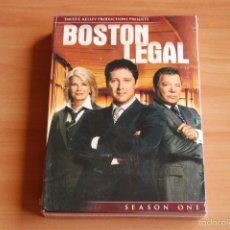 Series de TV: PACK DVD BOSTON LEGAL TEMPORADA 1 . NUEVO . Lote 55909539