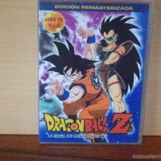 Series de TV: DRAGON BALL Z - LA SAGA DE LOS SAIYANS -VOLUMEN 2 - DVD EDICION REMASTERIZADA. Lote 55935104