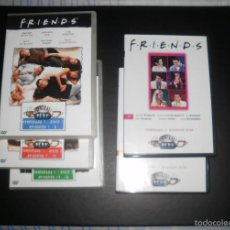 Series de TV: DVDS. FRIENDS, SERIE DE TV. LOTE DE 5 DVD DE LAS TEMPORADAS 1 Y 3. SOLO VISTOS UNA VEZ. Lote 56192730