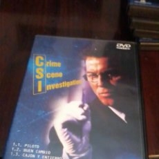 Series de TV: CSI CRIME SCENE INVESTIGATION 1. PRIMERA TEMPORADA CAPITUTULO 1. 2. 3. C16DVD. Lote 56391852