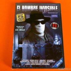Series de TV: EL HOMBRE INVISIBLE - 5 DVD´S- SERIE COMPLETA (LAS 2 TEMPORADAS)- PRECINTADA. Lote 56512303