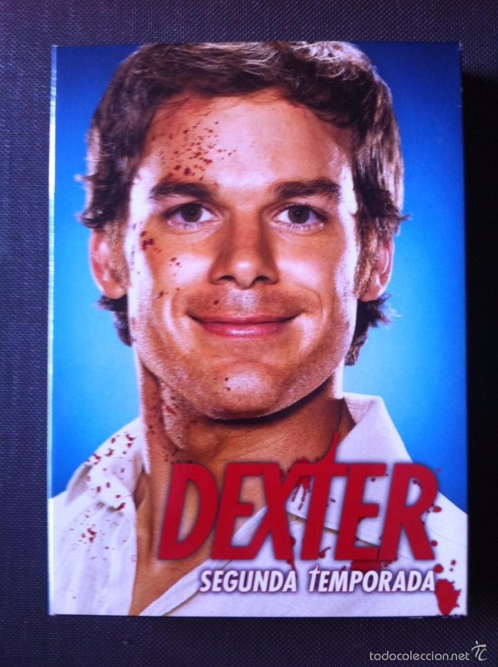 SERIE TV DVD - DEXTER. SEGUNDA TEMPORADA COMPLETA. EN MUY BUEN ESTADO