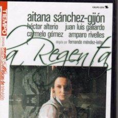 Cine: LA REGENTA, DVD 1 SERIE TV CON AITANA SANCHEZ GIJON, HECTOR ALTERIO, CARMELO GOMEZ...PRECINTADO. Lote 57225484
