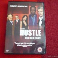 Series de TV: HUSTLE TEMPORADA 2 DVD SERIE BRITANICA ESTILO OCEANS ELEVEN CON SUBTITULOS EN INGLES BBC. Lote 57576561