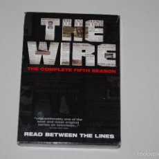 Series de TV: LOTE DVD SERIE TELEVISION THE WIRE 5 TEMPORADA COMPLETA.. Lote 57581740