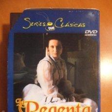 Cine: LA REGENTA. DVD DE LA SERIE DE TVE. ESTUCHE CON 3 DVD'S. CON AITANA SANCHEZ GIJON, HECTOR ALTERIO, J. Lote 57720481