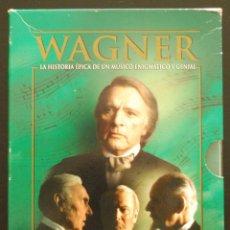 Cine: WAGNER (TONY PALMER, 2006, RICHARD BURTON) (SERIE COMPLETA DE 10 DVDS) (VER FOTOS ADICIONALES). Lote 57852933