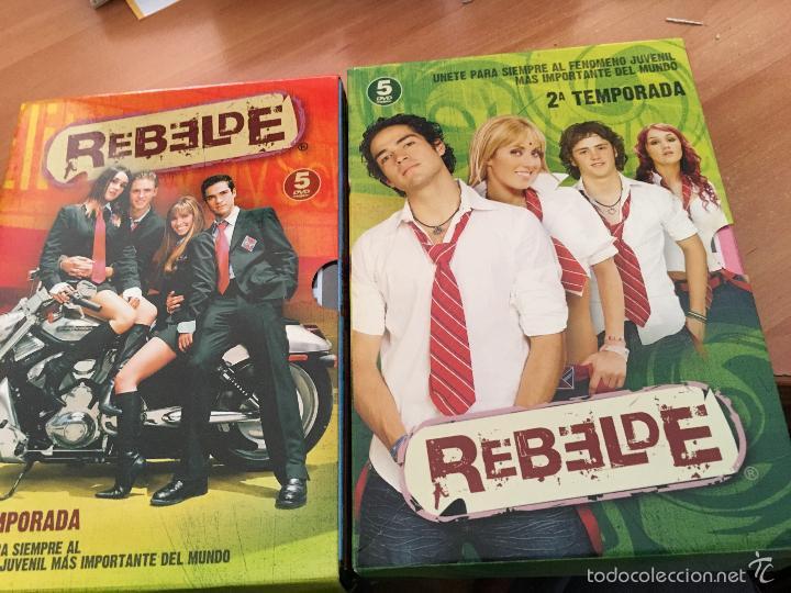 REBELDE TEMPORADAS 1 Y 2   10 DVD EN 2 PACKS (DVD5)