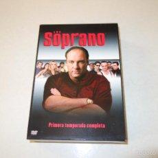 Cine: LOS SOPRANO- PRIMERA TEMPORADA COMPLETA. 6 DVD. Lote 58232381