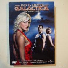 Series de TV: BATTLESTAR GALACTICA. TEMPORADA 1 - 4 DVDS - COMPLETA . Lote 58433140
