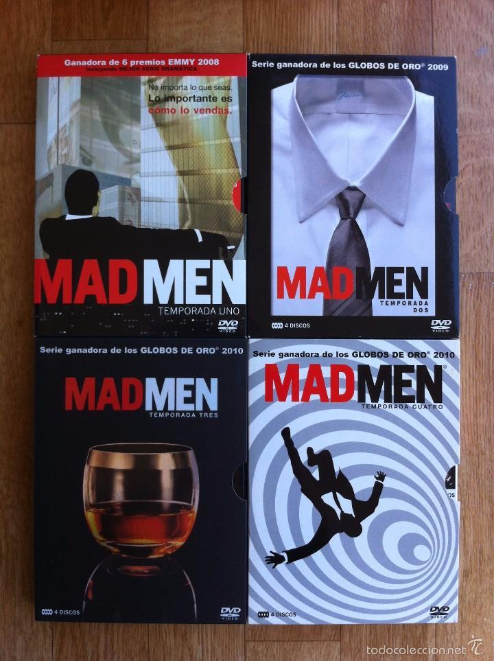 dvd serie tv - pack mad men temporada 1, 2, 3 y - Kaufen ...