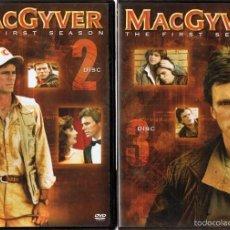Series de TV: DVD MACGYVER PRIMERA TEMPORADA (5 DVD). Lote 178188175