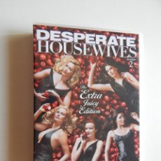 Cine: DESPERATE HOUSEWIVES SEASON 2 - THE EXTRA JUICY EDITION - 7 DVD - ENGLISH. Lote 59722703