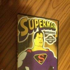 Cine: SUPERMAN. VOLUMEN 3. CON 6 EPISODIOS DE LA SERIE DE ANIMACIÓN. BUEN ESTADO. ALGO RARA. Lote 60460567