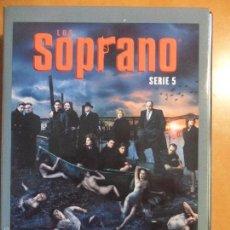 Cine: LOS SOPRANO. SERIE 5. ESTUCHE CON 4 DVD'S CON 13 CAPITULOS.. Lote 60574831