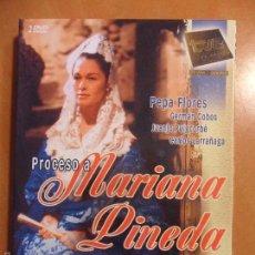 Cine: MARIANA PINEDA. DVD DE LA SERIE DE RAFAEL MORENO ALBA. CON PEPA FLORES, GERMAN COBOS, JUANJO PUIGCOR. Lote 60574935