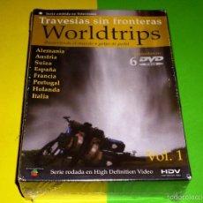 Series de TV: WORLDTRIPS RECORRIENDO EL MUNDO A GOLPE DE PEDAL VOL 1 - PRECINTADA. Lote 71674269
