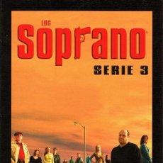 Series de TV: LOS SOPRANO 3ª TEMPORADA (4 DVD). Lote 61821600