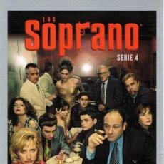 Series de TV: LOS SOPRANO 4ª TEMPORADA (4 DVD). Lote 61821632