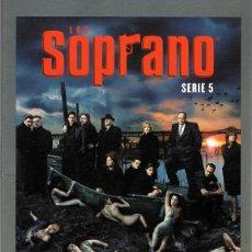 Series de TV: LOS SOPRANO 5ª TEMPORADA (4 DVD). Lote 61821692