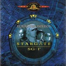 Series de TV: DVD STARGATE SG. 1 TEMPORADA 2 (PARTE 1) 3 DVD. Lote 62509752