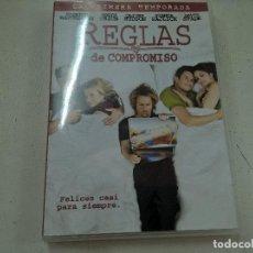 Cine: REGLAS DE COMPROMISO-LA PRIMERA TEMPORADA-1 DVD-N. Lote 63543680
