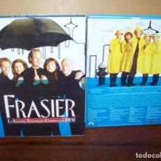 Series de TV: PACK FRASIER - SEGUNDA TEMPORADA COMPLETA EN DVD - 4 DVDS. Lote 297103053