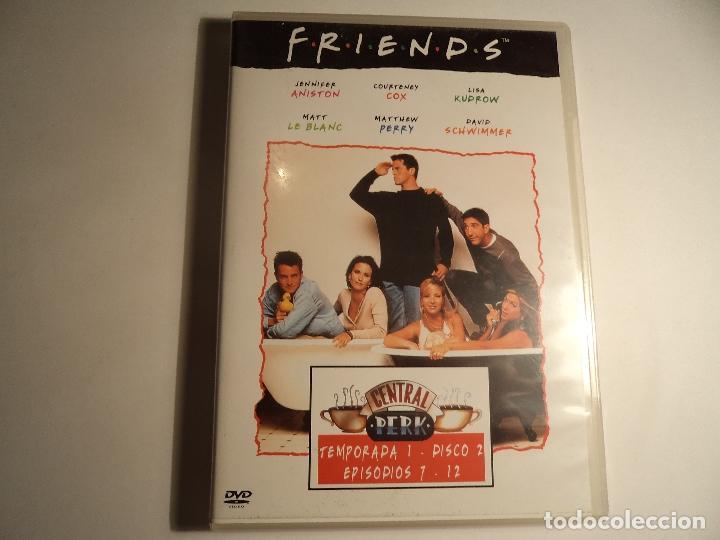 FRIENDS. TEMPORADA 1.EPISODIOS 7 - 12 (P-12) (Series TV en DVD)