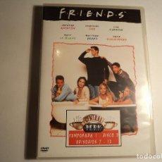 Series de TV: FRIENDS. TEMPORADA 1.EPISODIOS 7 - 12 (P-12). Lote 66650786