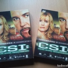 Cine: CSI LAS VEGAS TEMPORADA 7 ( 6DVDS). Lote 67084917