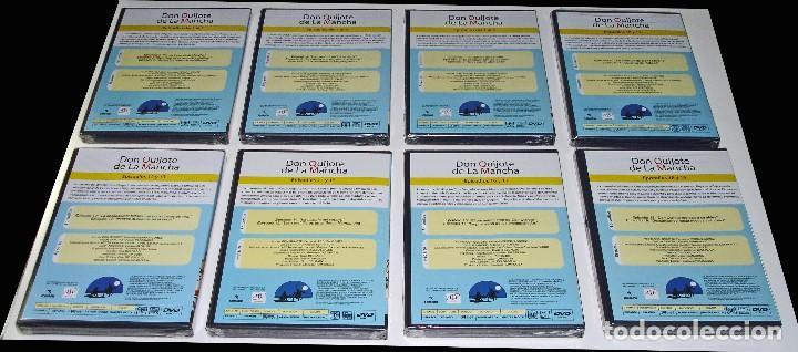 Cine: PROMOCIÓN PRENSA - DIBUJOS ANIMADOS DON QUIJOTE DE LA MANCHA (1979) - 18 DVD COMPLETA - CON PRECINTO - Foto 3 - 85435340